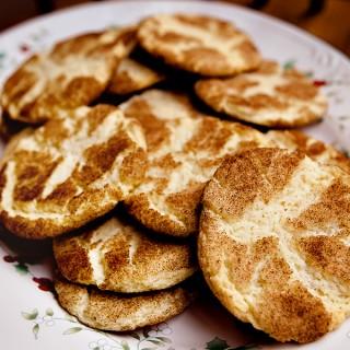 Cinnamon Sugar Snickerdoodles