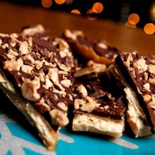 "Heath Bar Brickle or ""Christmas Crack"""