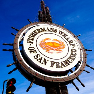 Hanging out at Fisherman's Wharf