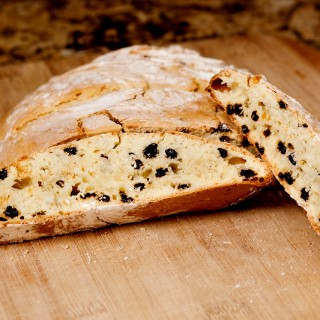 Irish Soda Bread with Currants and Orange Zest