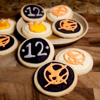Decorated Hunger Games Cookies