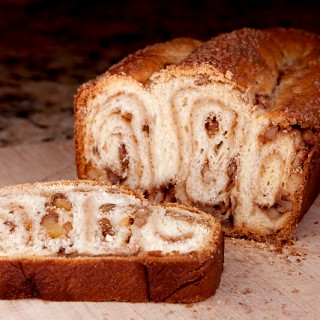 Swirly Cinnamon Walnut Povitica Bread