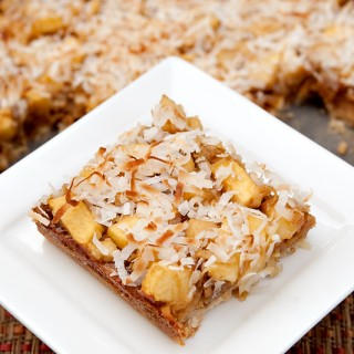 Pear Apple Coconut Bars