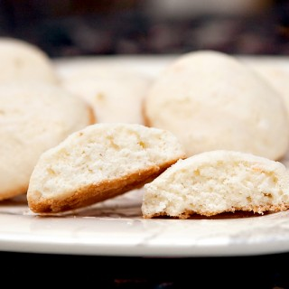 Glazed Vanilla Buttermilk Cookies