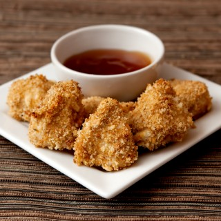 Baked Chicken Nuggets with Sweet and Sour Sauce