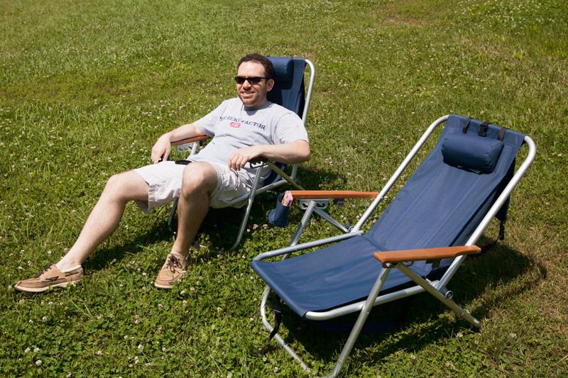 matt browne sitting in the sun