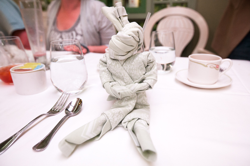 folded napkin pirate prisoner
