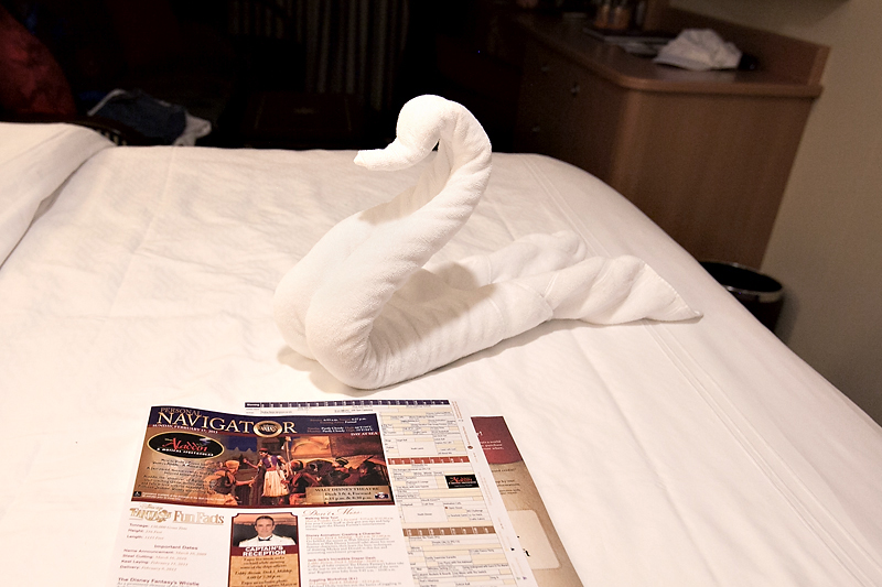 disney towel animal swan