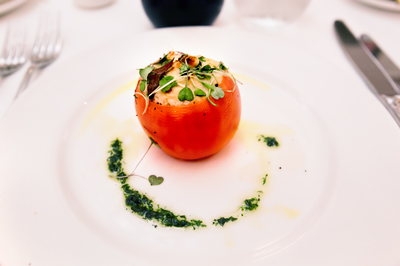 Disney cruise stuffed tomato