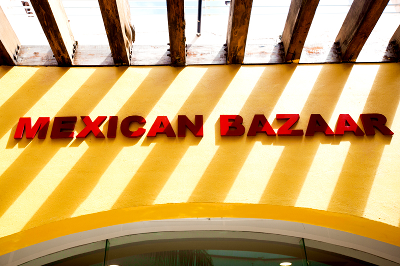 mexican bazaar in cozumel