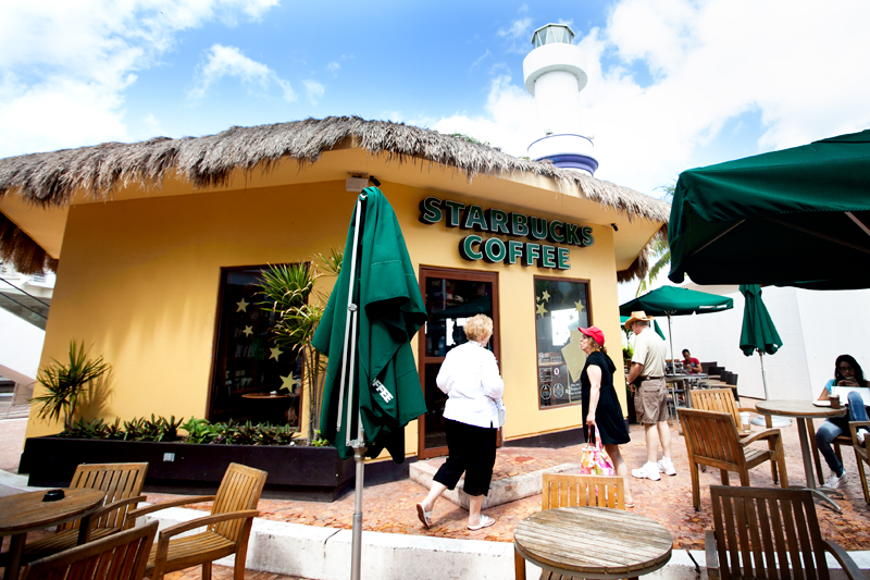 starbucks in cozumel