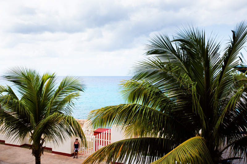 water view in cozumel