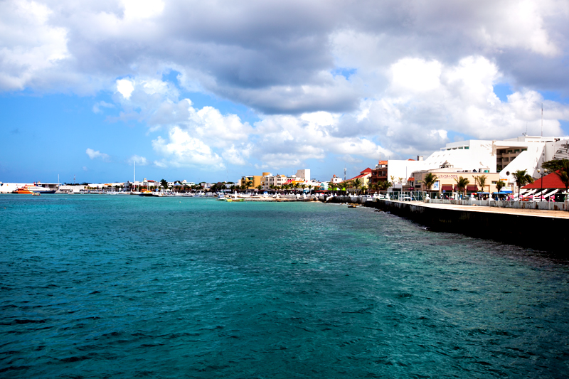 oceanfront shops in cozumel