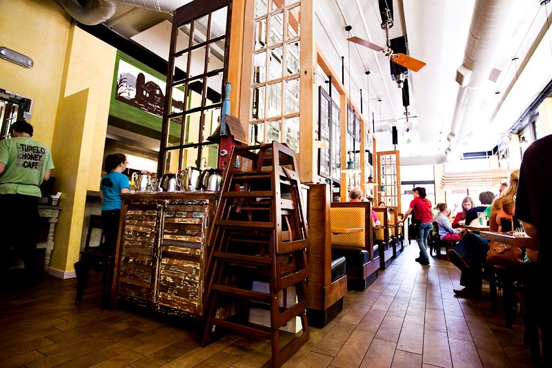 inside of tupelo honey cafe