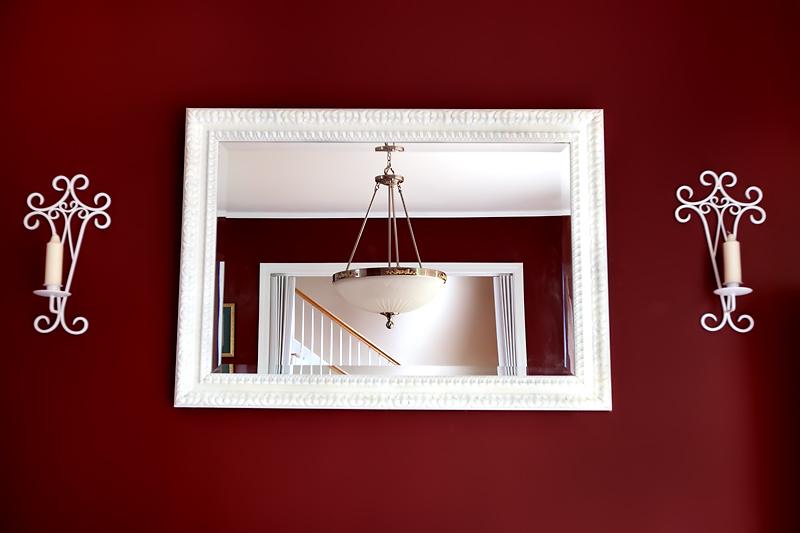 Diy wall mirror frame