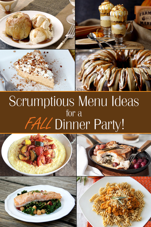 Easy Fall Dinner Party Menu Ideas