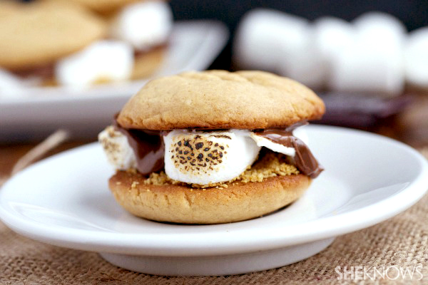 peanut-butter-cookie-s'mores
