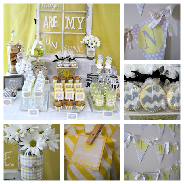 yellow-and-grey-birthday-party