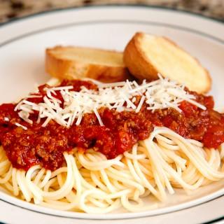 Italian Spaghetti Meat Sauce