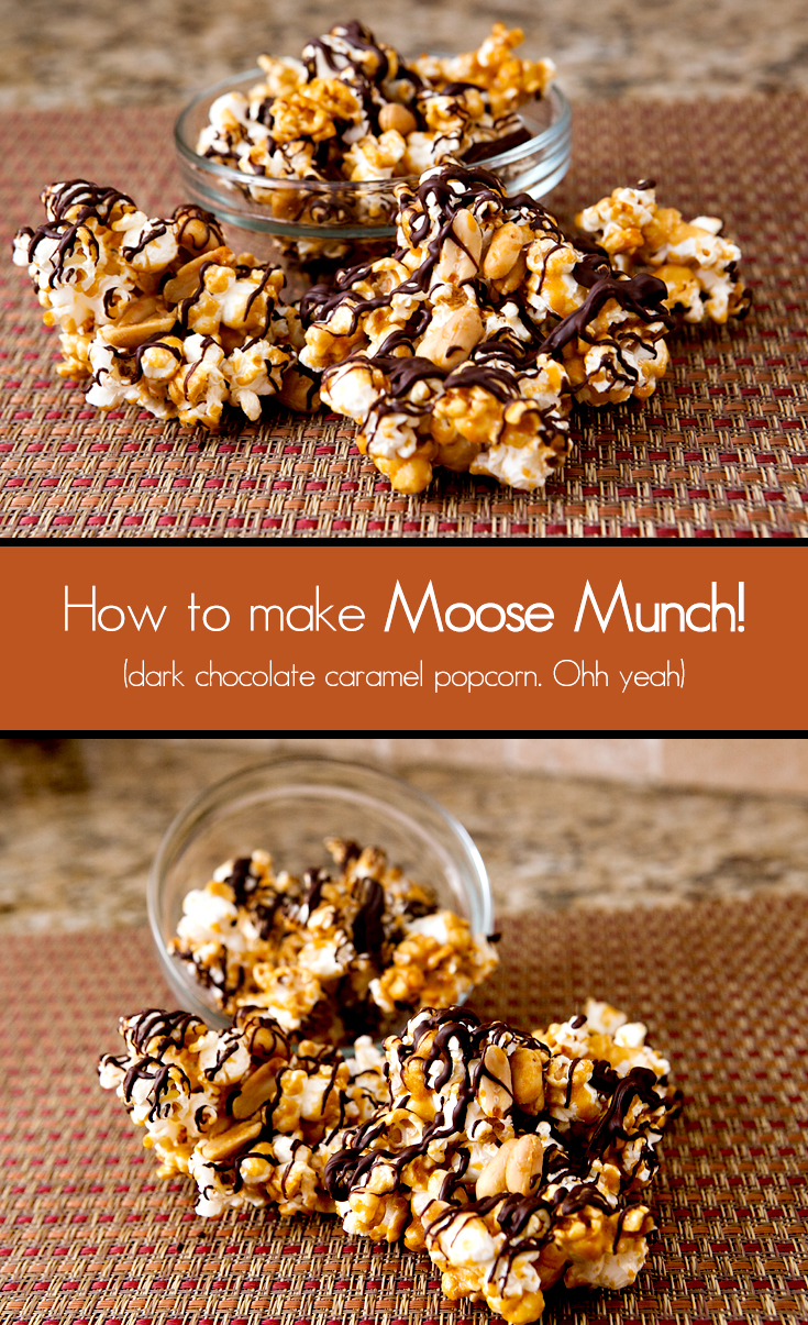 Dark Chocolate Caramel Popcorn (Moose Munch Copycat) | Brownie ...