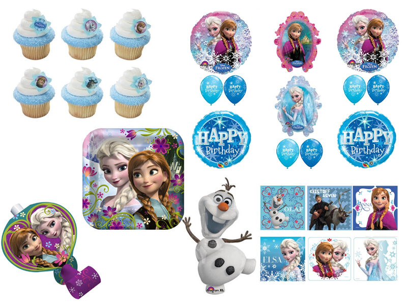 Supplies Frozen Party Supplies