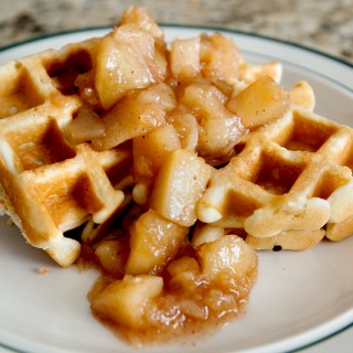 Cinnamon Apple Waffles | Krusteaz Breakfast for Dinner
