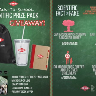 GIVEAWAY! Back to School Scientific Prize Pack by Orkin!