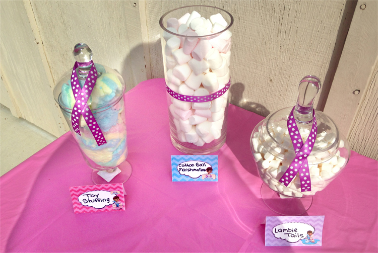 Doc McStuffins Party Ideas Brownie Bites Blog