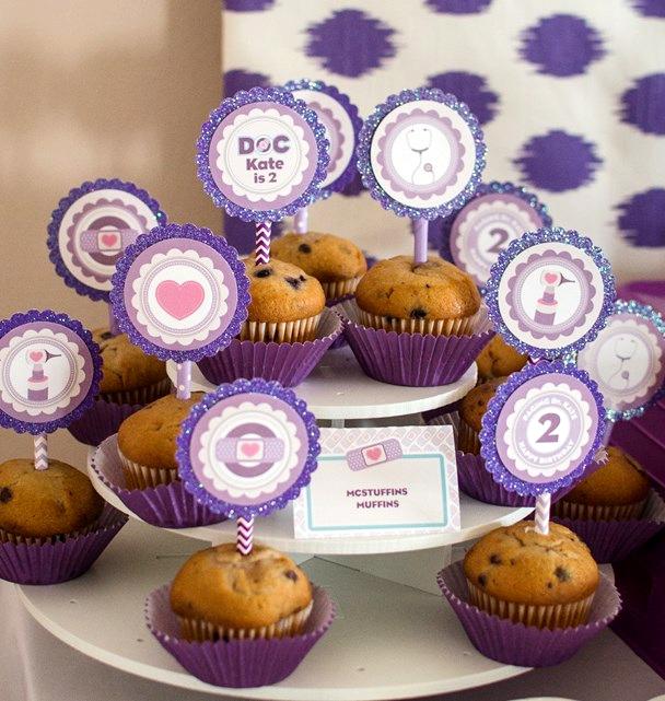 doc-mcstuffins-party-ideas-mcstuffins-muffins