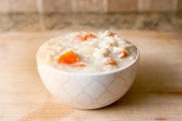 light chicken and rice soup