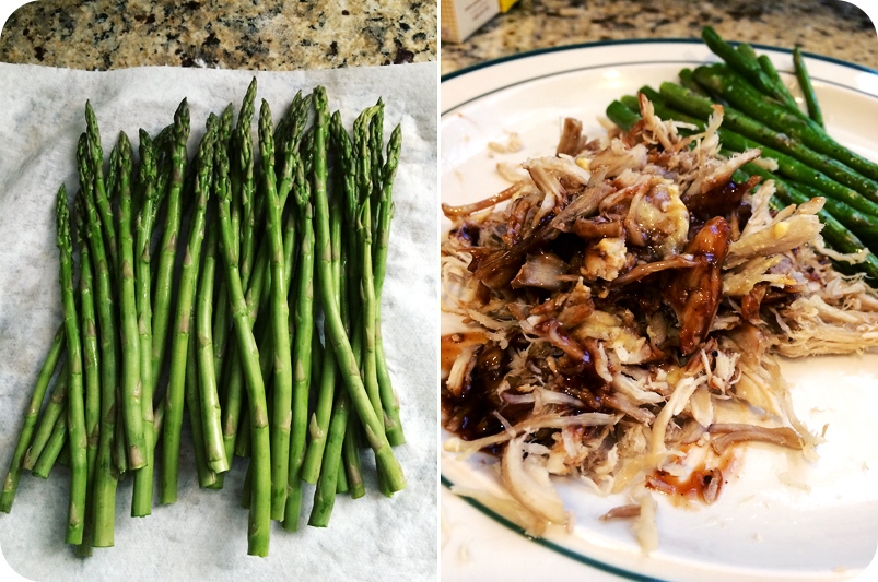 asparagus-with-pulled-pork-barbecue