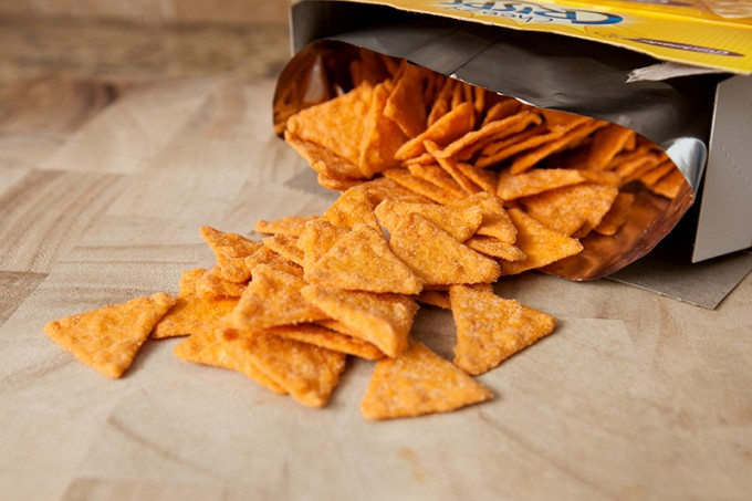 Crunchmaster Cheezy and Grammy Crisps Review