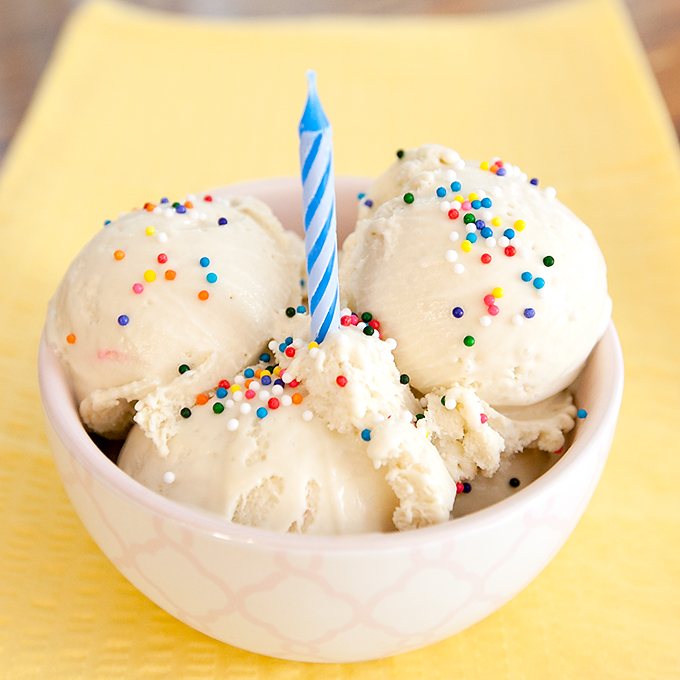 How To Make Birthday Cake Batter Ice Cream