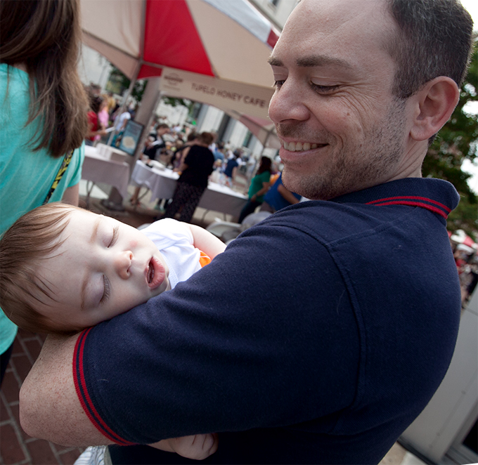 knoxville-international-biscuit-festival-baby-fell-asleep