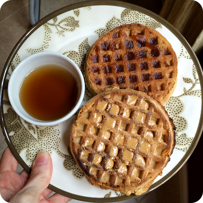 vans-organic-toaster-waffles-for-breakfast