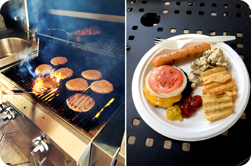 pool-day-cookout-grilling-burgers