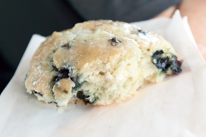 The Best Scone I've Ever Eaten at Diamond Head Market and Grill