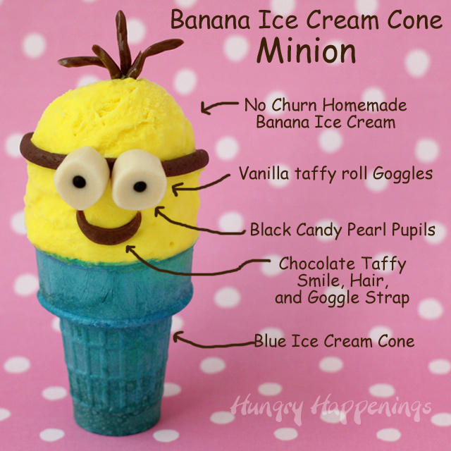 minions ice cream cone