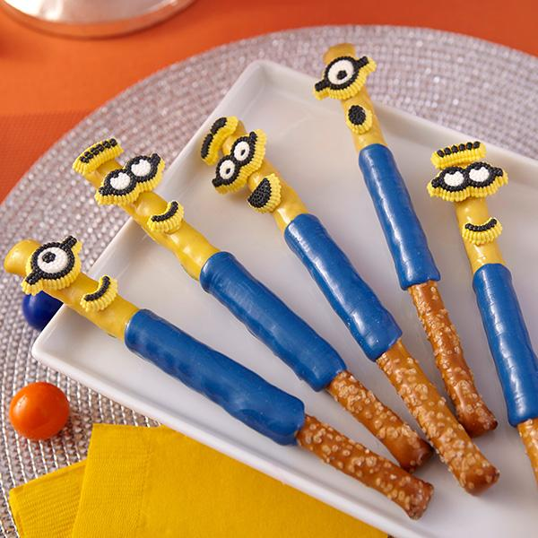 Chocolate Pretzel Twists Dunmore Candy Kitchen: 15 Totally Awesome Minions Party Food Ideas
