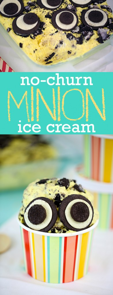 no churn minions ice cream