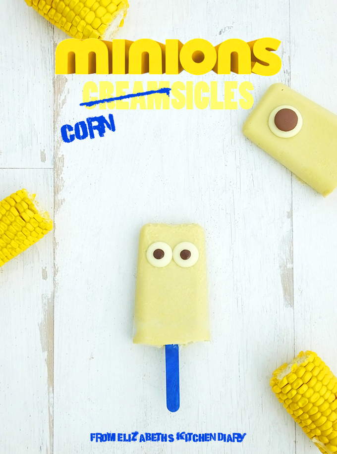 minions popsicles