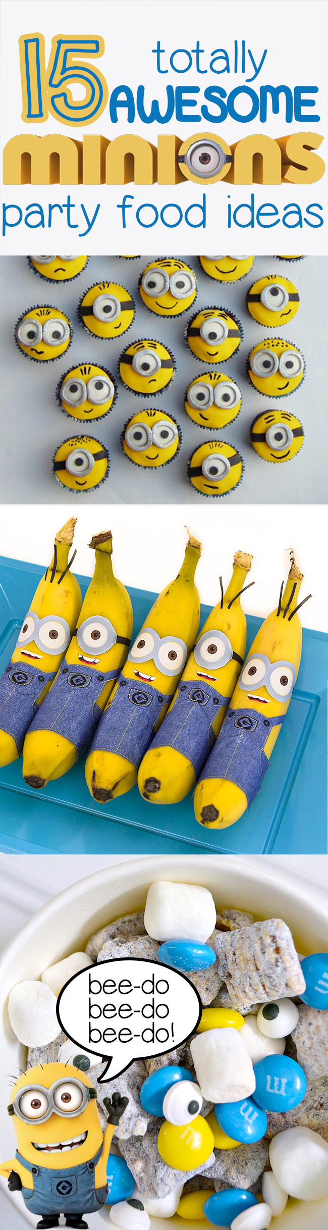 15 Totally Awesome Minions Party Food Ideas - Brownie ...