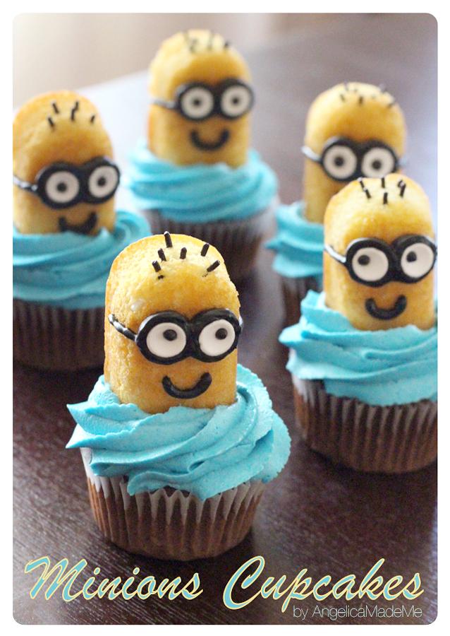 minions twinkie cupcakes