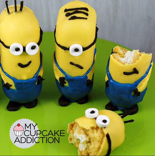 dipped minions twinkies
