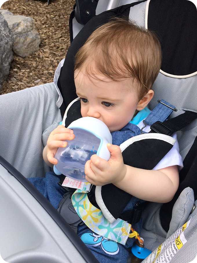 9-months-old-using-sippy-cup