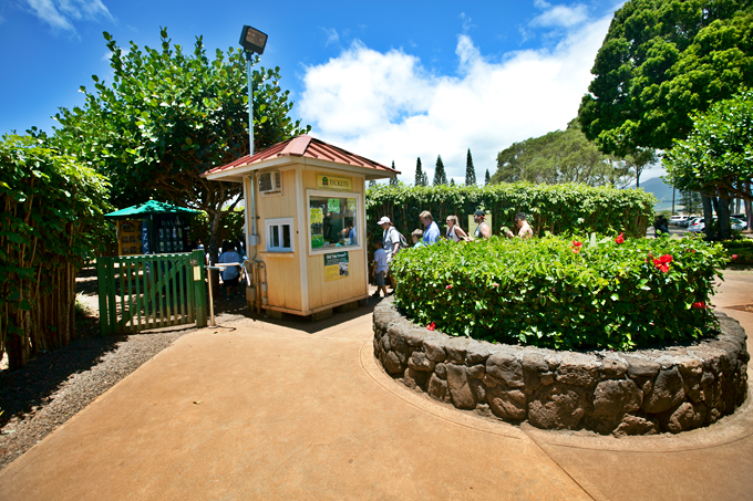 garden maze entrance at dole