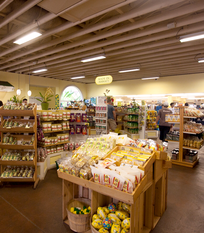 dole plantation gift shop