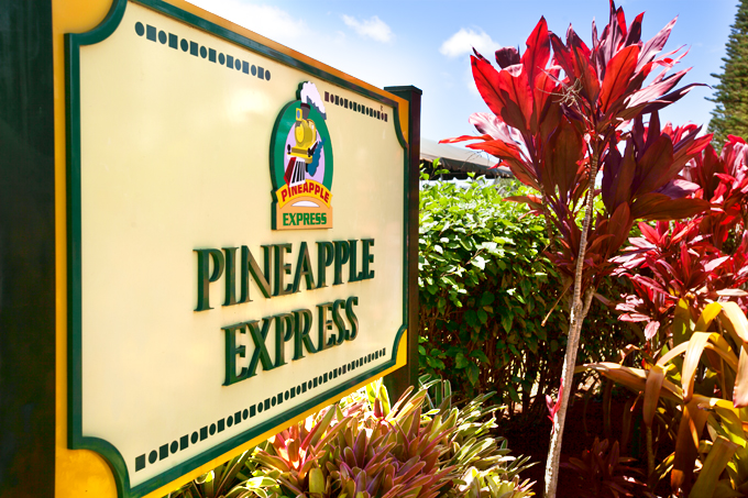 pineapple express sign