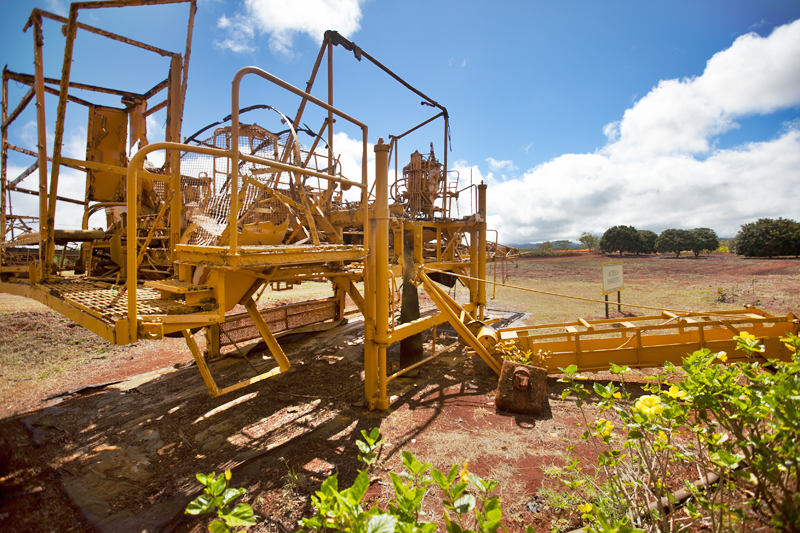 dole plantation harvester equipment