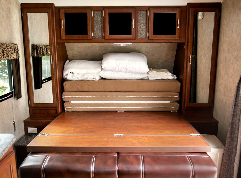 murphy bed in trailer